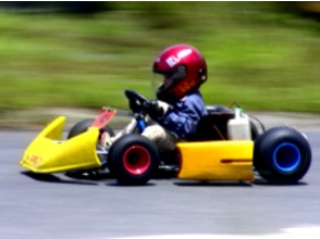 【Hiroshima / Hatsukaichi】 Run the course on the racing cart! ★ Elementary school student can also ride! ★ image