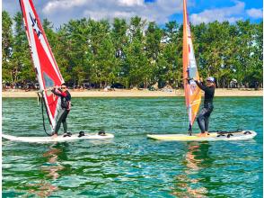 [滋賀/琵琶湖]帆板運動初學者課程★初級/ 1天體驗課程★