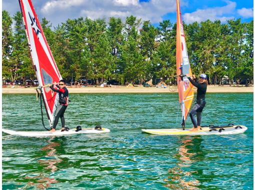 [滋賀/琵琶湖]帆板運動初學者課程★初級/ 1天體驗課程★の紹介画像