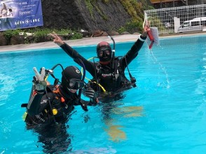 [Shizuoka ・ Higashi Izu] Experience Diving(half-day course)