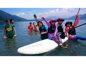【Yamanashi / Lake Motosu / Fuji Goko】 Paddle Board (SUP) Experience 【Pick Up! 】Image of