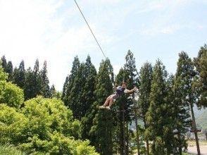 【Niigata · Echigo Yuzawa】 Feeling refreshing! Forest Adventure (Adventure Course Self Veilay)