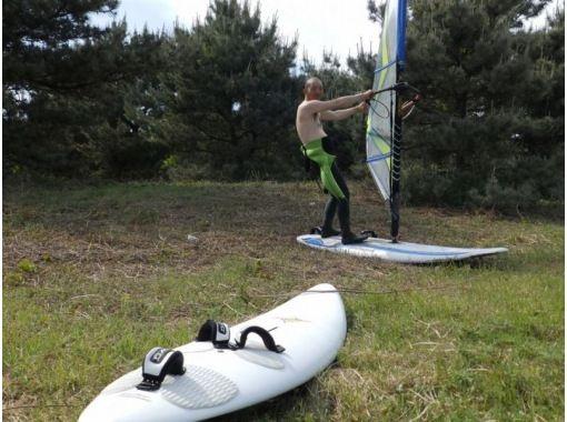 [Tokushima/ Ishii] Windsurfing half-day Experience courseの紹介画像
