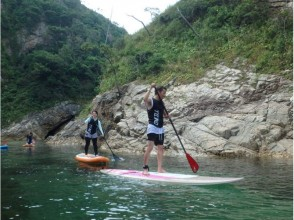 [Tottori / Uradome Coast] SUP experience ★ the topic of marine sports Position trying to quickly experience!