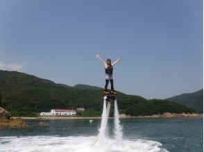 [Hyogo Himeji] luxury combo plan! Image of the fly-board & wakeboard experience