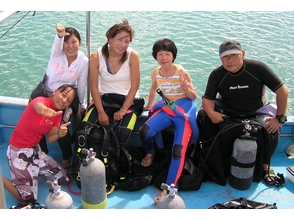 【沖縄/宮古島】伊良部の海でボートファンダイビングの画像