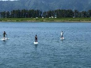 [爱知·Kisogawa]悠闲地享受! SUP河巡游船课程(约120分钟)