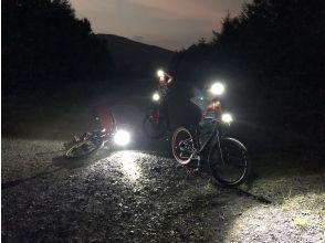 [Nagano] Enjoy the night forest! MTB Night Ride !! Mountain Bike Guided Tour