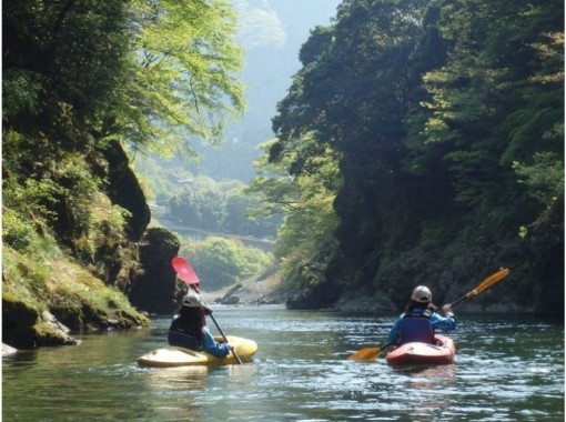 【東京・奥多摩】のんびり♪カヌー・カヤック体験ツアー(1日体験 or 半日体験)