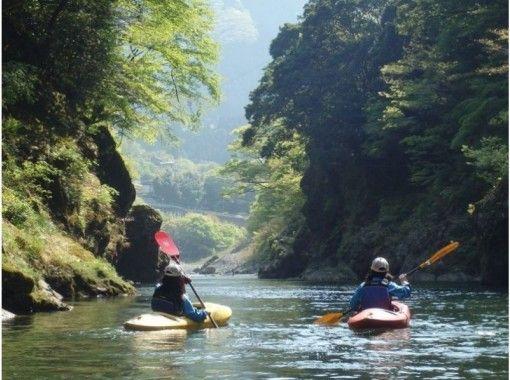 【東京・奥多摩】のんびり♪カヌー・カヤック1日体験ツアー(ロングコース)