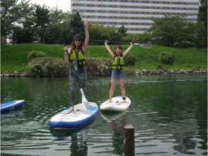 [Tokyo, 23 wards] Tokyo SUP experience [Stand up paddle board]