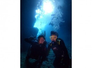 【Okinawa · Blue cave】 Experience diving photography · Towel rental feeding Free first person is OK!