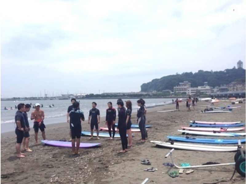 shonan enoshima even beginners are safe surf school for adults