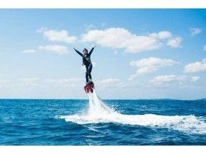 【新潟・長浜】かっこよく水上散歩ができる!フライボード体験!(25分)