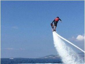 【新潟・長浜】空飛ぶサーフィンで海を飛びまわろう!ホバーボード体験!(25分)