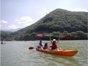 【群馬 みなかみ・洞元湖】I LOVE CANOE & KAYAK(カヌー&カヤック)1日ツアーの画像