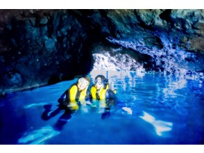 [Hokkaido ・ Shakotan Mikunoku] Blue cave snorkel ・ Play even in the rain! Photo presents during the tour ♪ shower Complete