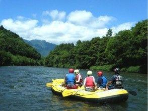 [Hokkaido Furano] Small children are safe! ! family Rafting ★ half-day Plan ★