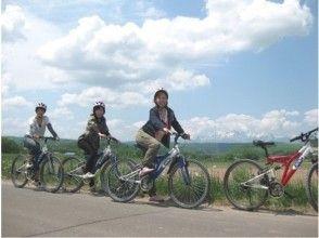 【北海道・富良野】澄み切った空気がおいしい!!マウンテンバイク★半日プラン★