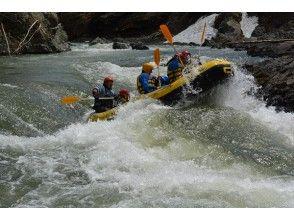 [Hokkaido Minamifurano] rafting (half a day)