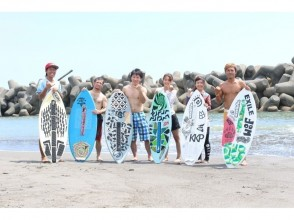 【Miyazaki · Sun Beach one leaf】 Beginner great jealousy! Skimboarding handy experience course ★ 【Free transfer included with more than 2 participants! 】Image of