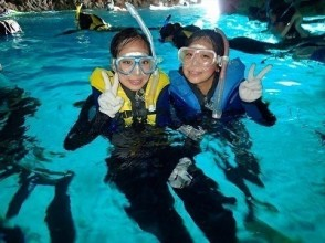 【Okinawa · Blue Cave】 Snorkel inspired early morning plan It is safe even for those who can not swim!