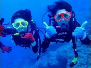 [Okinawa Blue Cave] diving can be even for beginners! Experience diving tour! ! ★ early morning plan ★