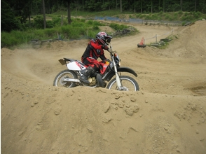 [Triple-Misugi] experience motocross 2 hour course for the first time only image with a riding guidance