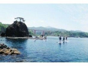 【柏崎・福浦】足元の海はまるで水族館!絶景の青海川SUP