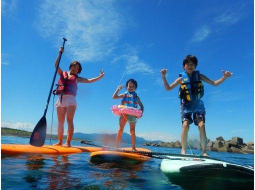 【新潟・柏崎】SUPで海遊び!の紹介画像