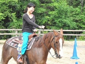 [Kyoto Funai] enjoy up to trot even for beginners! Riding lessons (30 minutes)