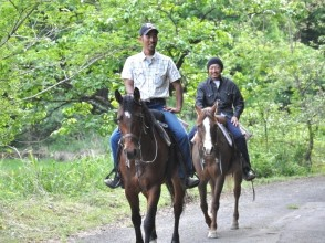 [Kyoto Funai After riding lessons, lessons and outside to go out riding plan (60 minutes)