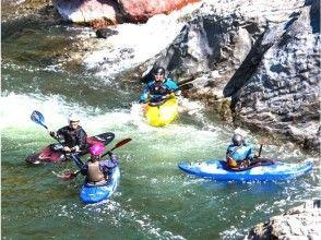 [Hokkaido ・ In Hidaka Kayak]Kayak School(One day course)