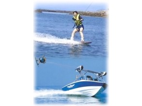 【愛知・三河湾】ウエイクボード 本格ボート体験(ボートでトーイング・1名)体験レンタル付/1名より受付
