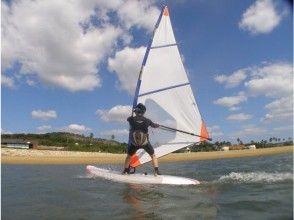 【山口県・周南】気軽に楽しめる!ウインドサーフィン体験(90分コース)の画像