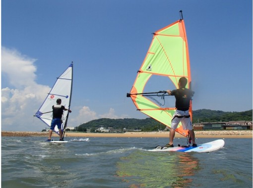 [ Yamaguchi Prefecture (Western-Northern-Central)] Windsurfing-Hope area Held in the best condition of-children OKの紹介画像