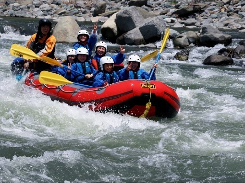 [Yamanashi Fujikawa] rafting experience in Japan's three major torrent! Half-day course of the introduction image