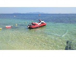【滋賀・琵琶湖】ベタベタしない!完全淡水 フライボード体験(25分)カーメルビーチクラブ店の画像