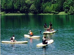 【山梨・四尾連湖】NATIVESURF SUPスクールの画像