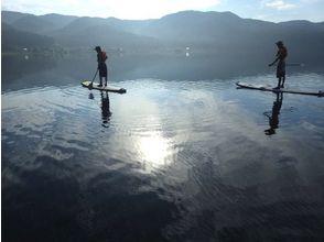 [Nagano ・ Kizaki Lake】 SUP (stand-up paddle board) experience School ★ Sunrise SUP course ★
