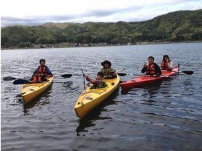 【長野・木崎湖】カヌー体験ツアー★ショートコース★の画像