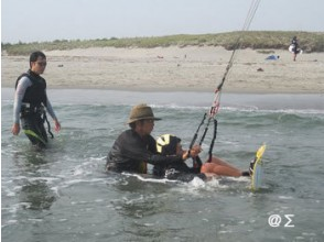 [Shizuoka ・ Numazu or Fuji River】 Kite board experience (1 day course)