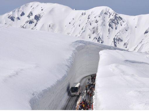 【富山・立山】トレッキング テーマ型募集ツアー 雪の大谷が語る水と氷の物語の紹介画像