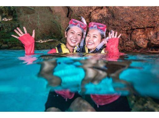 【地域共通クーポン対象】\ボートで出航/青の洞窟シュノーケル!エサあげ体験付き!+水族館チケットも割引特典♡