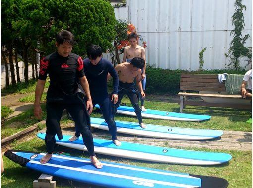 [茨城,大洗海岸]衝浪體驗課程の紹介画像