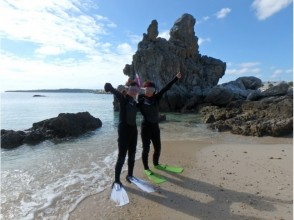 [Okinawa Onna] PADI regular shop ♪ · sea enjoy a skin diver image