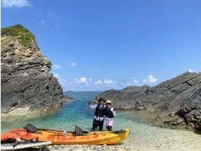 【沖縄北部・オクマ】無人島へ行こう!シーカヤック+シュノーケリング体験