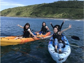 【Okinawa · Kunigami Village】 Sea kayaking experience (2 hours to 3 hours) in the blue sea in the northern part of Okinawa main island designated as Yanbaru National Park
