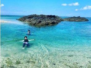 【沖縄北部・オクマ】無人島へ行こう!サップ(SUP)+シュノーケリング体験