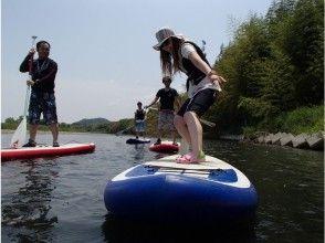 【滋賀・野洲川】SUP(サップ)で川遊び体験!レンタル料込み!の画像